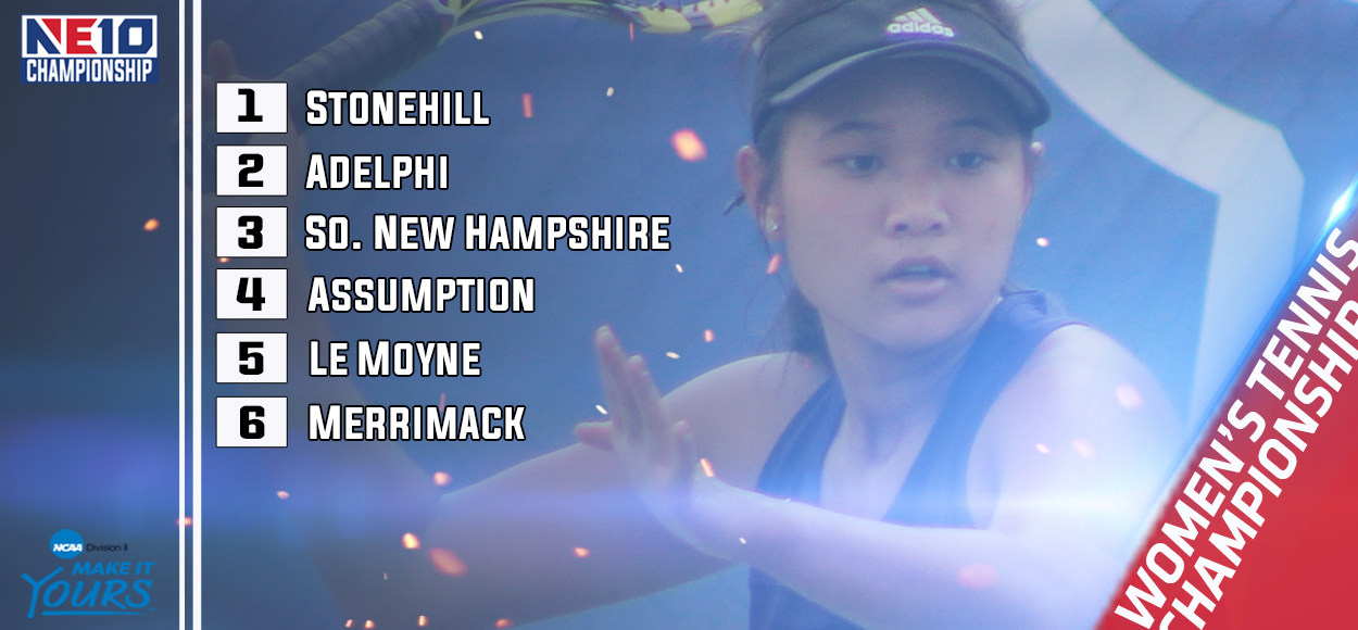 Stonehill Earns Top Seed for Upcoming NE10 Women's Tennis Championship