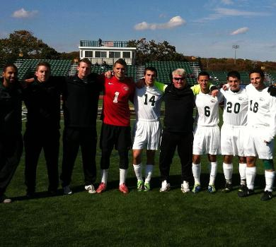 Rams End in Scoreless Tie on Senior Day