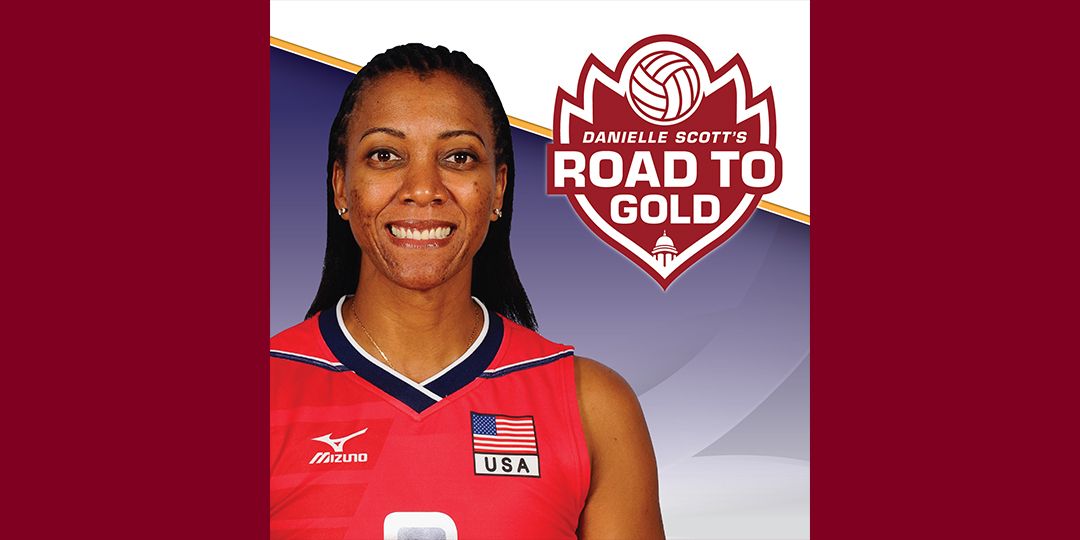 Centenary Volleyball, with Olympian Danielle Scott, Host Road to Gold Camp