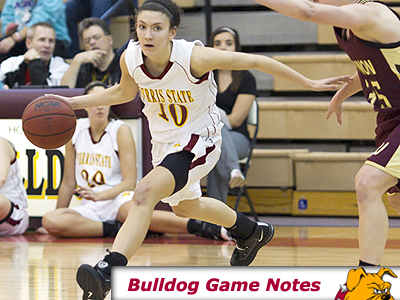Sophomore guard Kylie Muntz & the Bulldogs hit the road this week