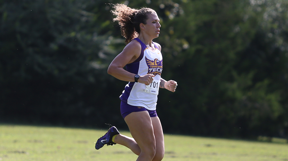 Golden Eagle women's cross country battles rain delays, inclement weather at Commodore Classic
