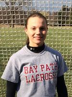 Bay Path's Helming Earns NECC Women's Lacrosse Player of the Week with Eight Goals