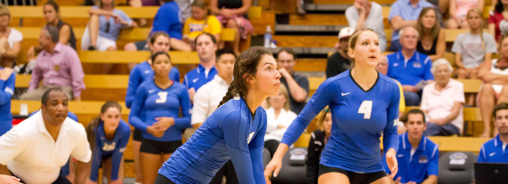 UCSB Sweeps Loyola, Battles Arizona to Five Sets