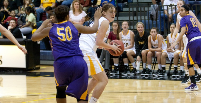 Women's Basketball Crushes Centenary