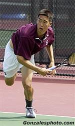 Men's Tennis Edged by SMC 4-3