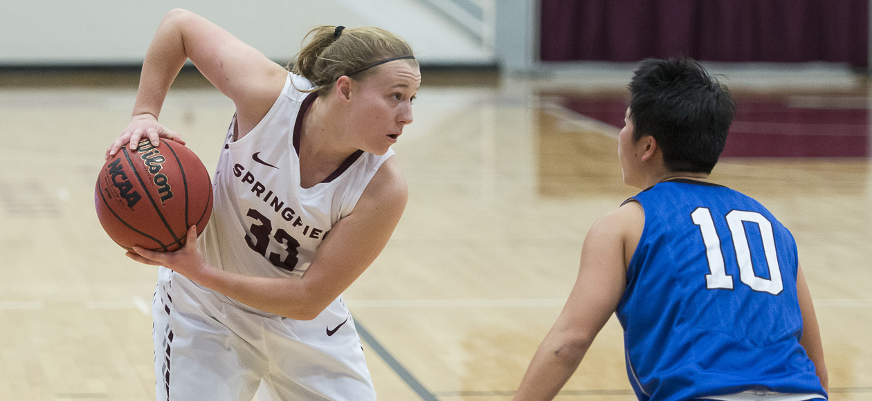 Women's Basketball Suffers First Conference Loss; Pride falls to WPI, 54-49