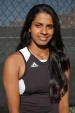Shalini Sahoo was named the UMBC Athlete of the Month for March
