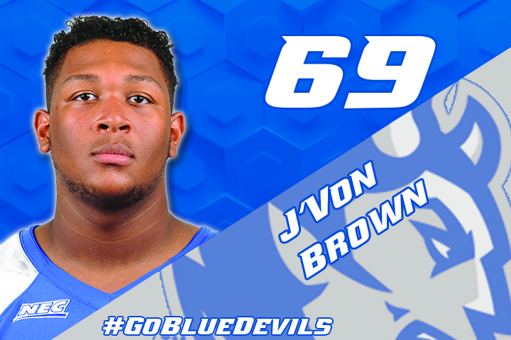 J'Von Brown Named to Athlon Preseason FCS All-America Team