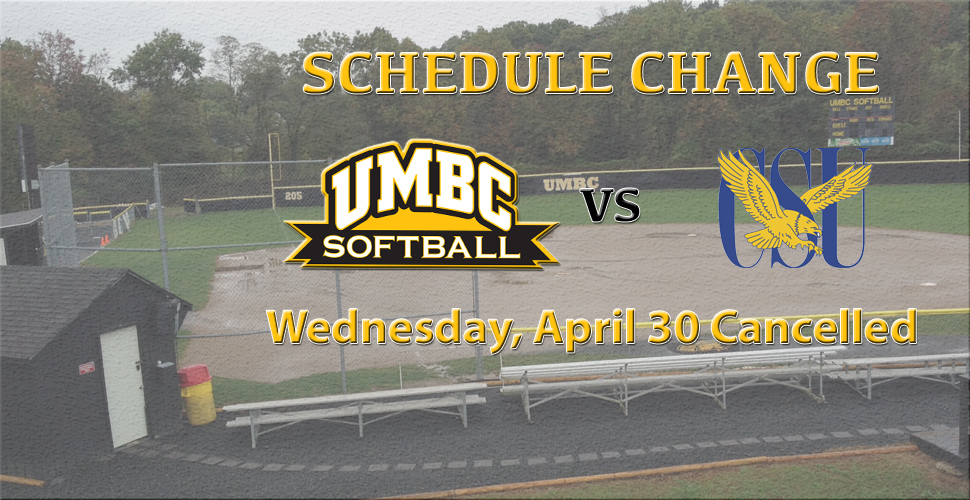 Midweek Matchup Between UMBC Softball and Coppin State Cancelled