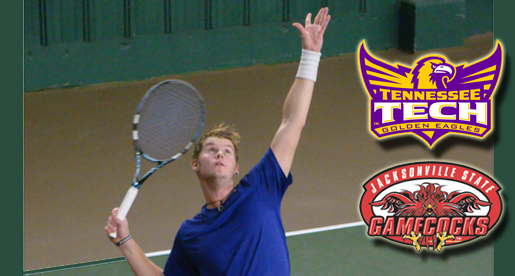 Tennis team opens conference schedule Saturday at Jax State