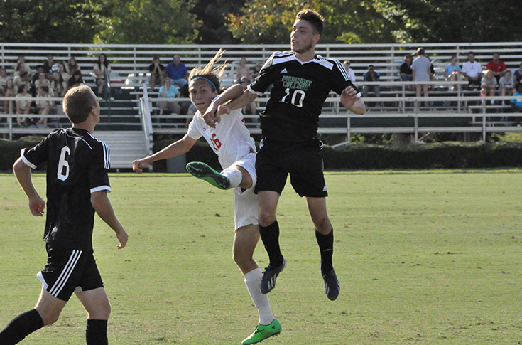 Men's Soccer: Piedmont edges Panthers 3-2 with second half goal in USA South game