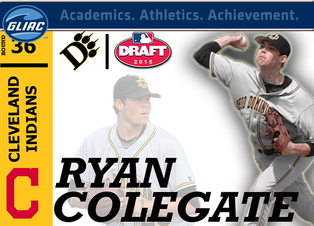 ODU's Ryan Colegate Selected In 36th Round By Cleveland Indians