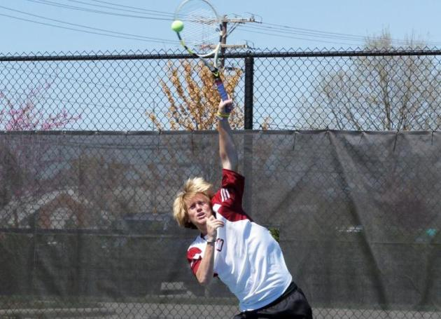 Clayton Hamilton Named ODAC Tennis Player of the Week
