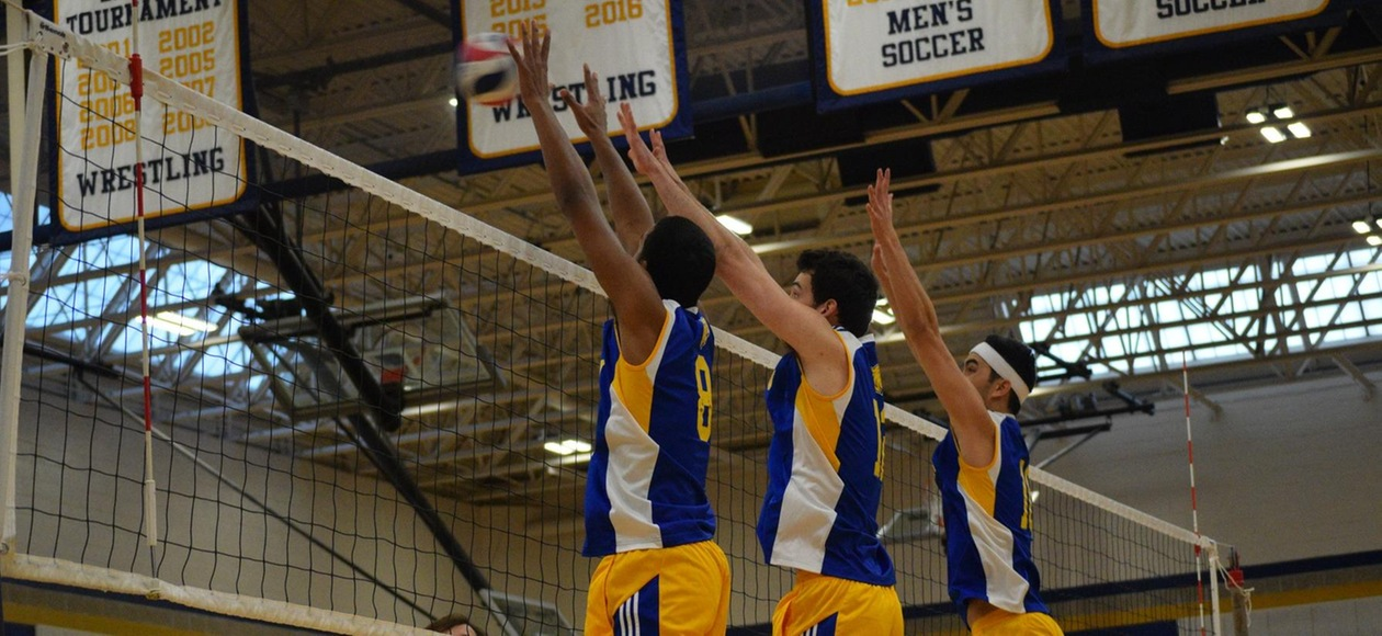 Men's Volleyball Splits at Cal Lutheran Tournament