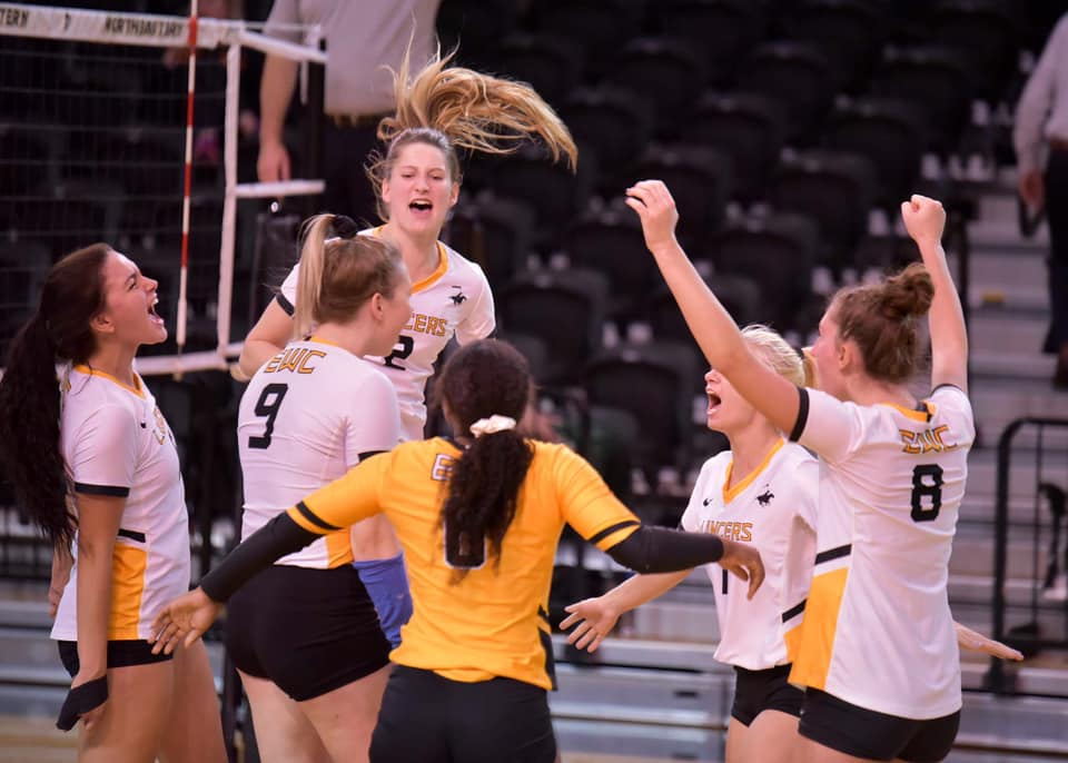 Eastern Wyoming College Lancer Volleyball - Photos by Tina Parmelee
