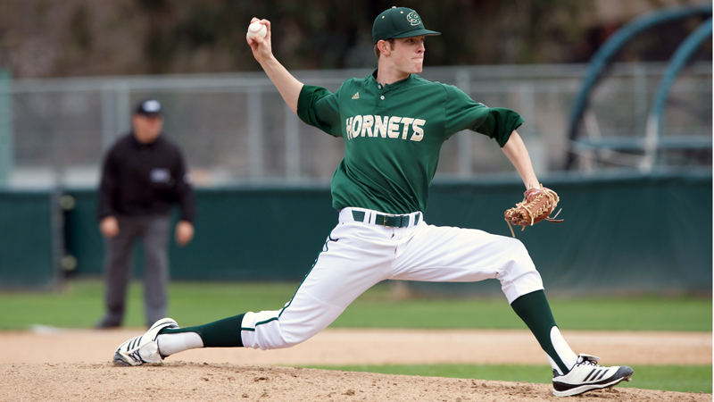 NICHOLS' STRONG OUTING LEADS BASEBALL TO 1-0 VICTORY OVER UTAH VALLEY