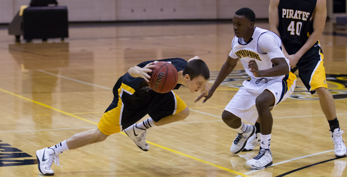 Men's Basketball Out-Rebounded in Loss