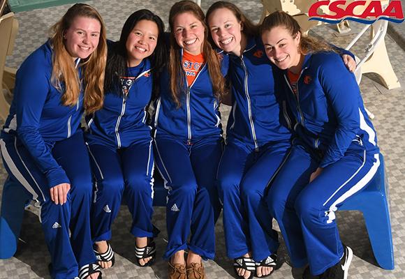 Women's Swimming and Diving Seniors