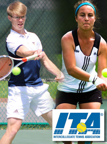 Emory & Henry Men's & Women's Tennis Players Receive ITA Scholar-Athlete Recognition