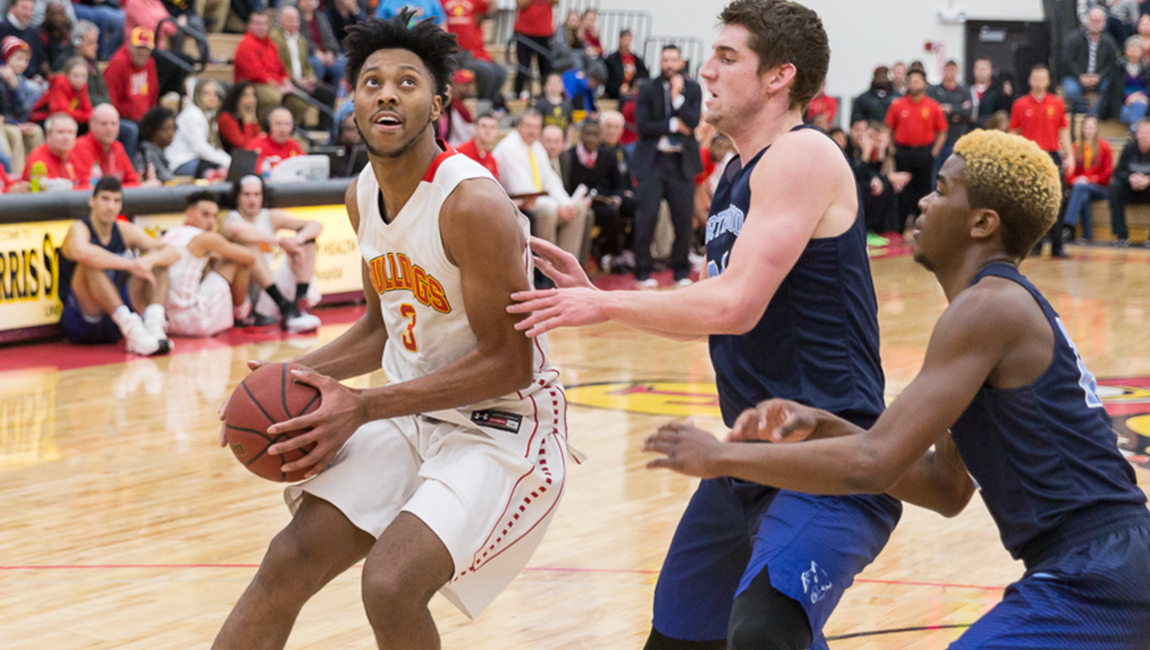 Sizzling First Half Gives Ferris State Decisive Win & First Place In GLIAC North