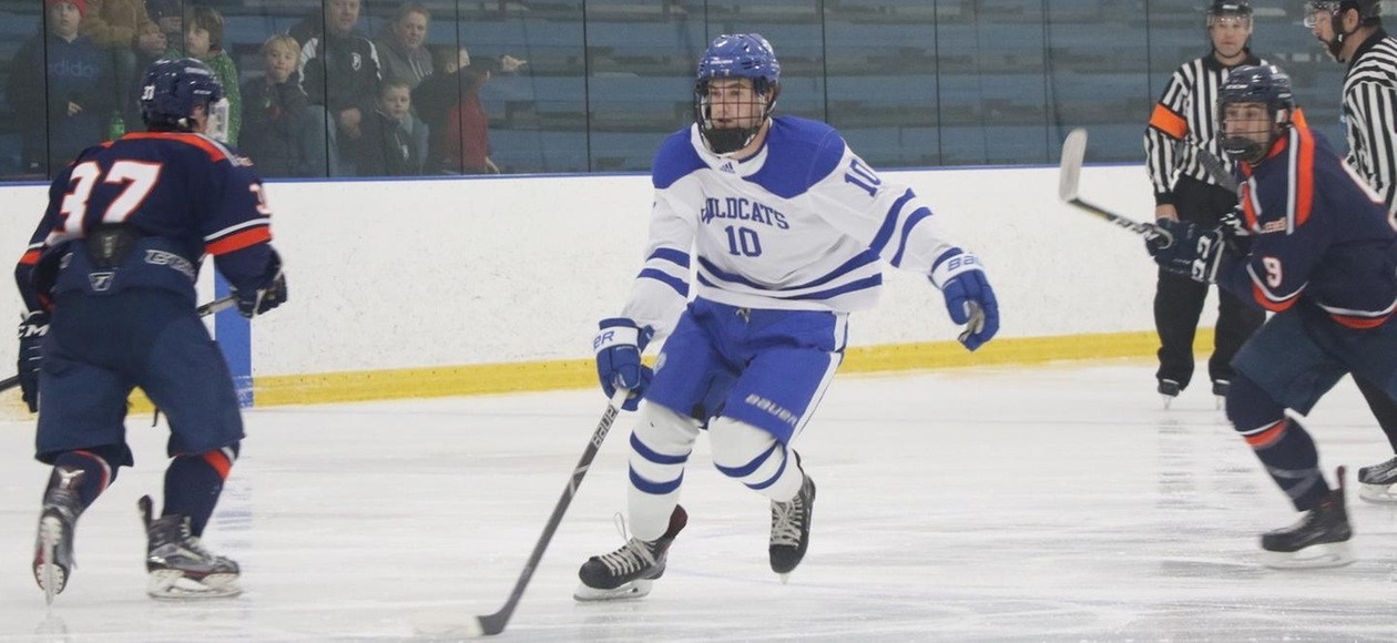 Pilgrims Too Much for JWU Men's Ice Hockey 4-1
