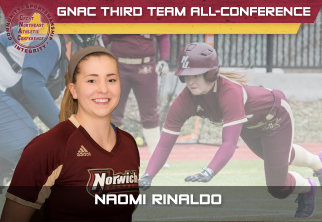 Naomi Rinaldo softball GNAC All-Conference
