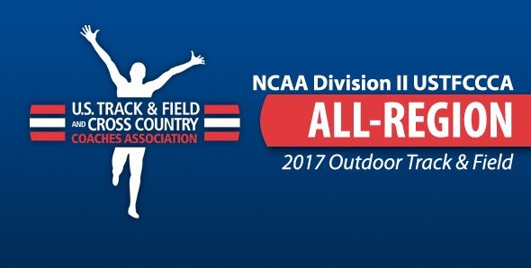 Six SVSU student-athletes earned All-Midwest Region honors for the 2017 Outdoor season...