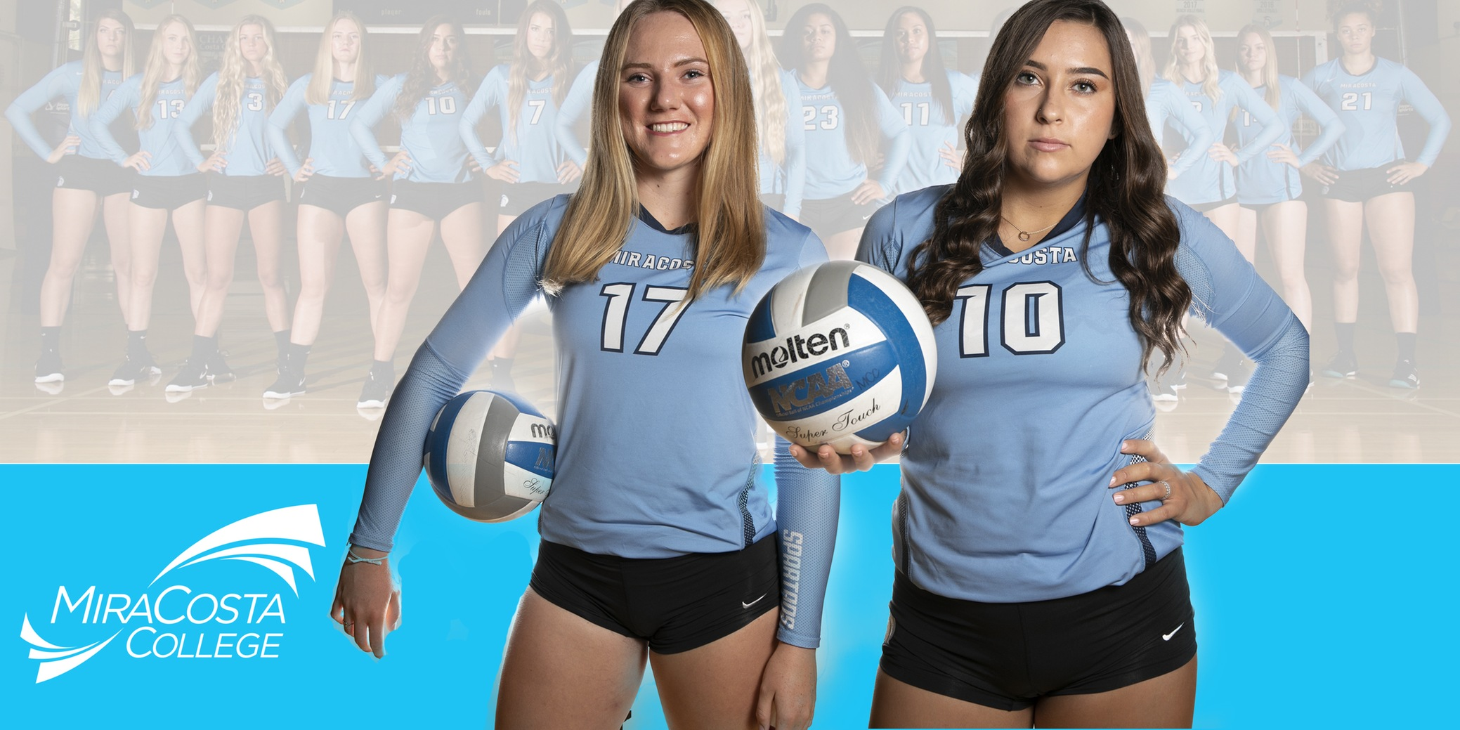 Kacy Hele and Hayley Torres.