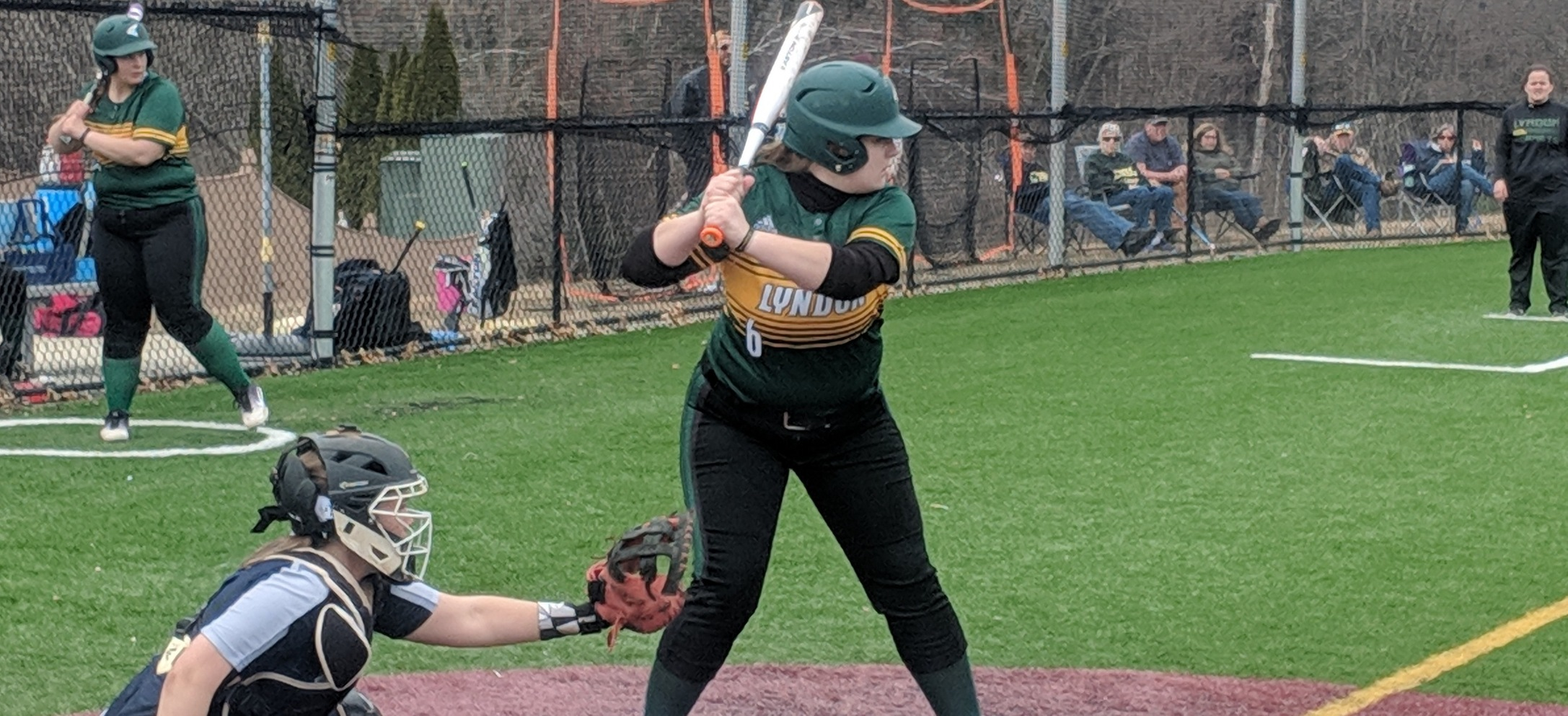 Hornet bats are quiet as softball drops a pair to Rivier