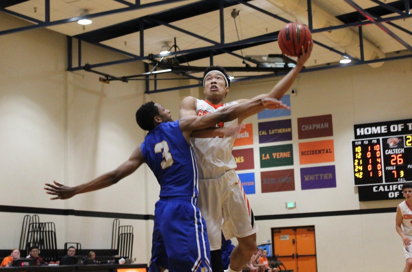 Men's Basketball Contends with Tough JWU