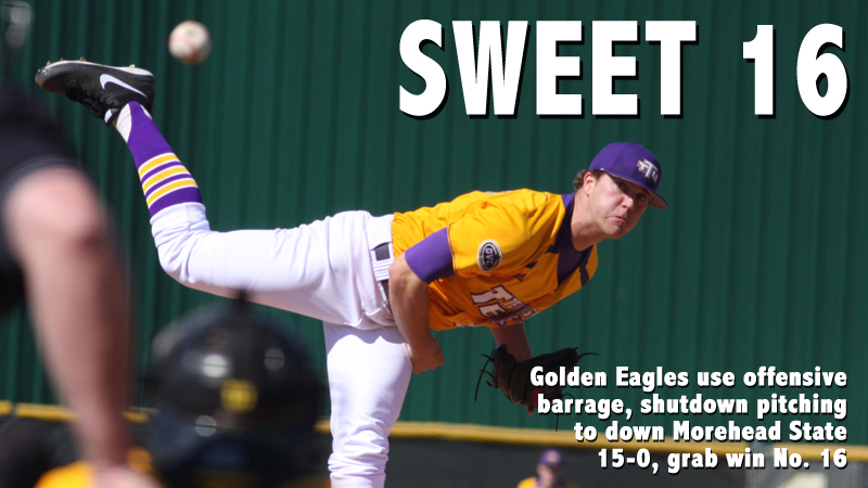Golden Eagles dominate in 15-0 shutout at Morehead State