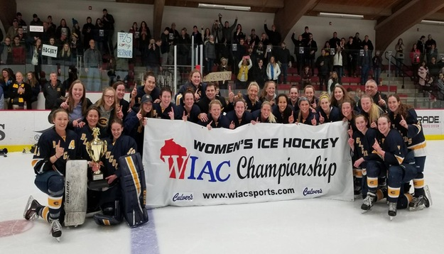 Women's Hockey wins program's first O'Brien Cup