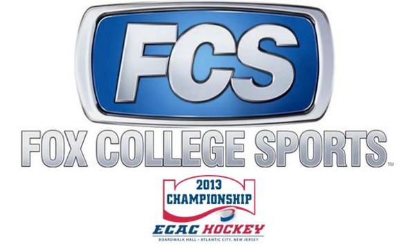 ECAC Hockey to Air on Fox College Sports