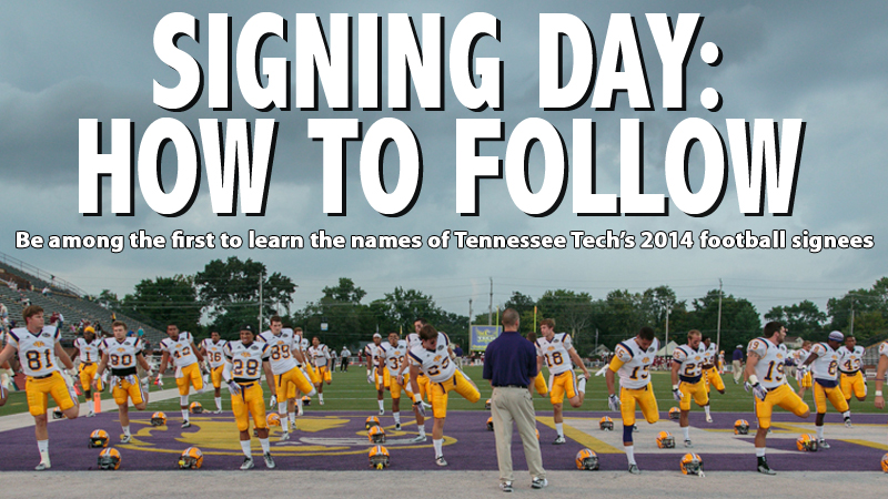 Follow Tech's football signings Wednesday on social media and more