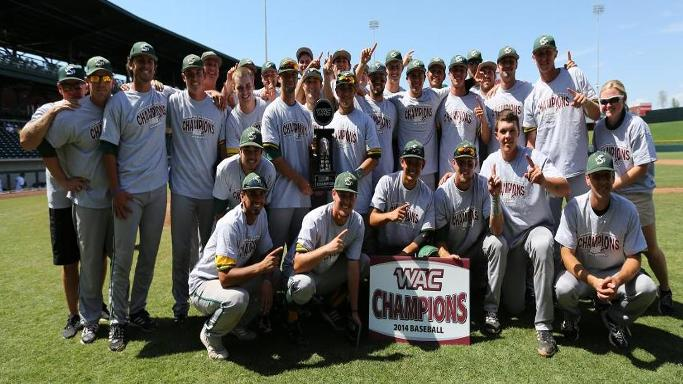 BASEBALL TOPS UTAH VALLEY TO WIN WAC TITLE, EARN NCAA TOURNAMENT BERTH