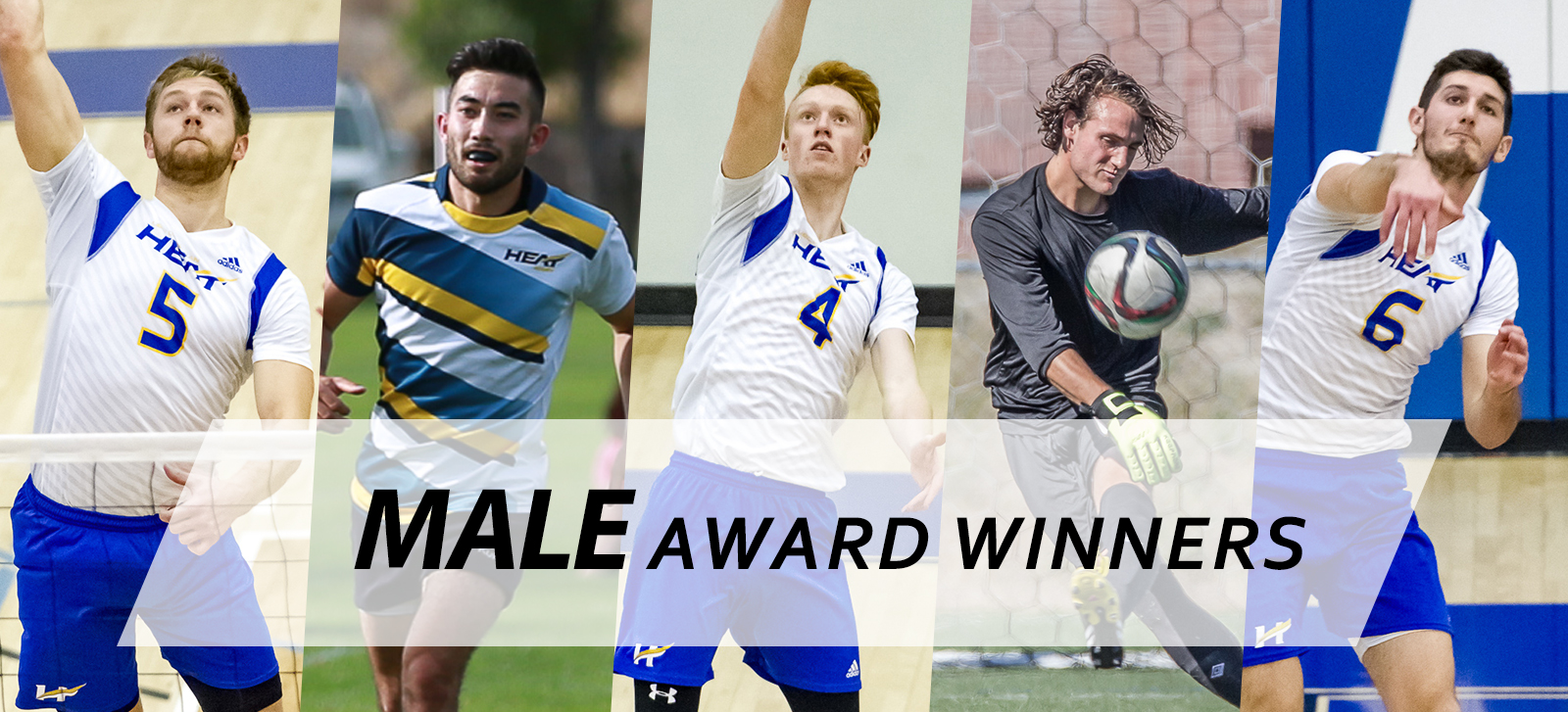 Male Award Winners for the 9th Annual Athletics Awards Banquet