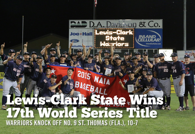 Lewis-Clark State Wins 17th World Series Title