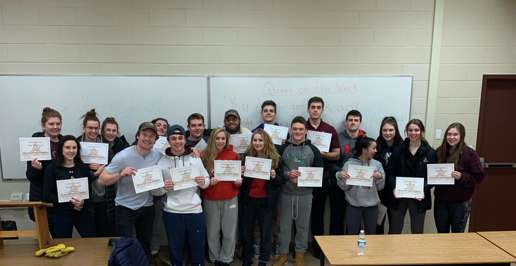 Mounties Leadership Academy Graduates New Class