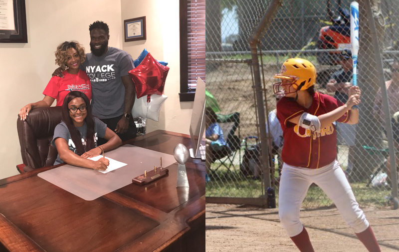 Softball Signs Johnson and Adams to 2018-19 Roster