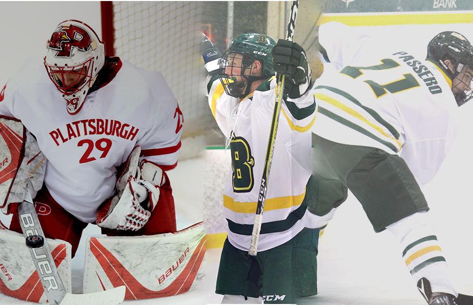 SUNYAC names this weeks Men's Ice Hockey Athletes of the Week