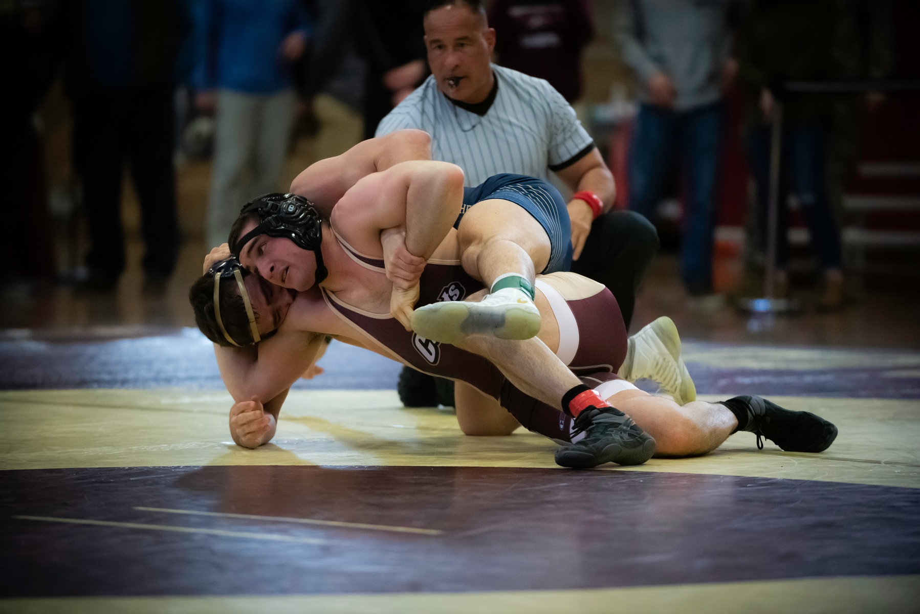 Wrestling: Norwich Earns Two Guaranteed Places, Finishes 11th at Ithaca Invitational