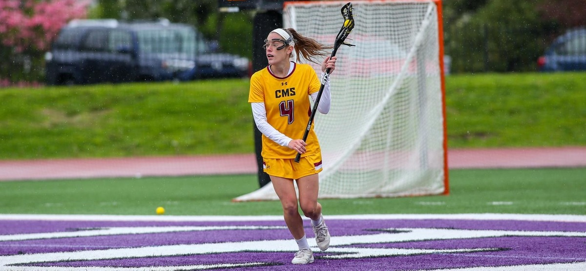 Corie Hack scored two goals to finish her career with 213, second in CMS history (photo by Brian Foley)