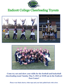 Cheerleading to Hold Tryouts on May 5th