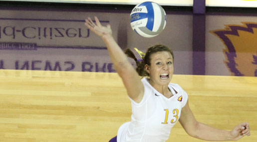 Golden Eagle Volleyball drops five-set thriller