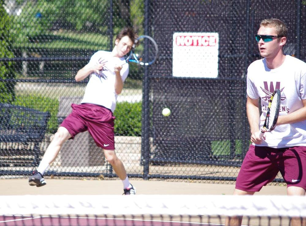 Men's Tennis Set For Pair of Regional Matches