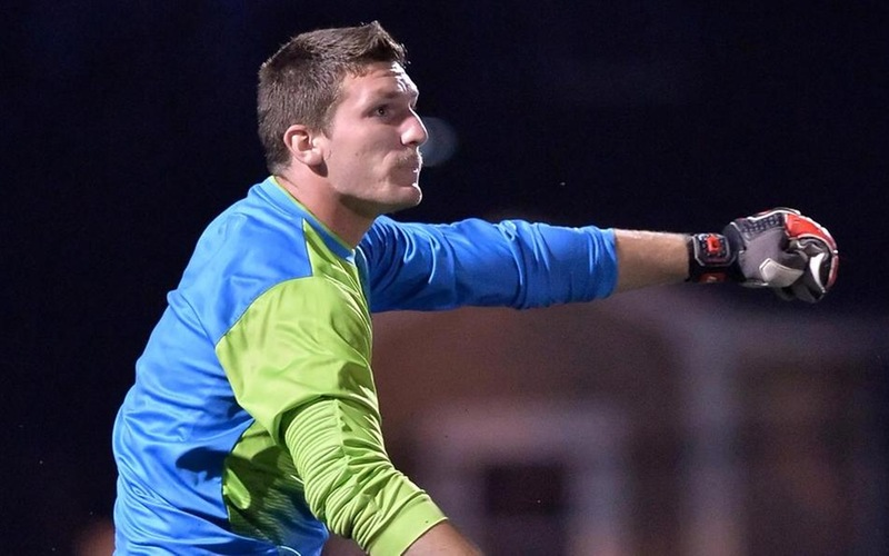 Crawford's Late Goal, Pruchnik's 13 Saves Lift Men's Soccer To 1-1 Draw With Coast Guard