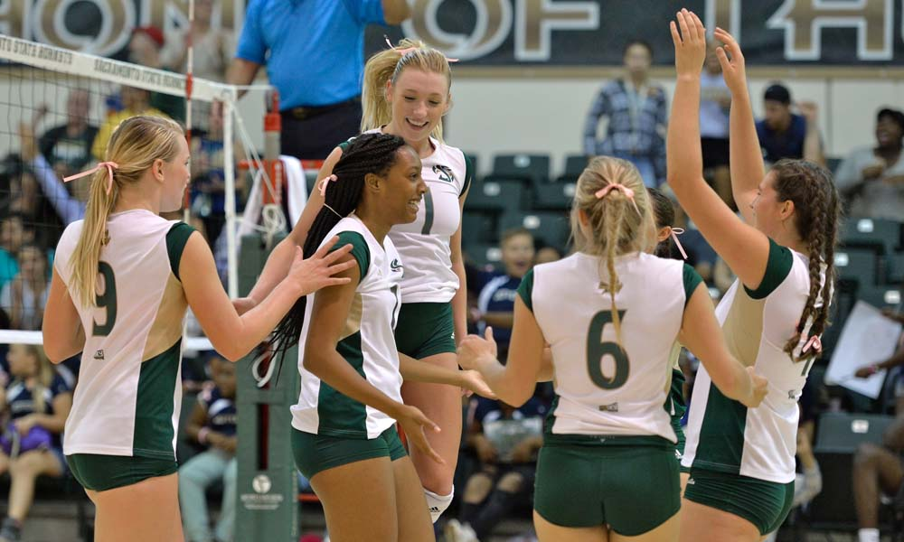FIVE WINS IN A ROW! VOLLEYBALL DOWNS SAN FRANCISCO, 3-1