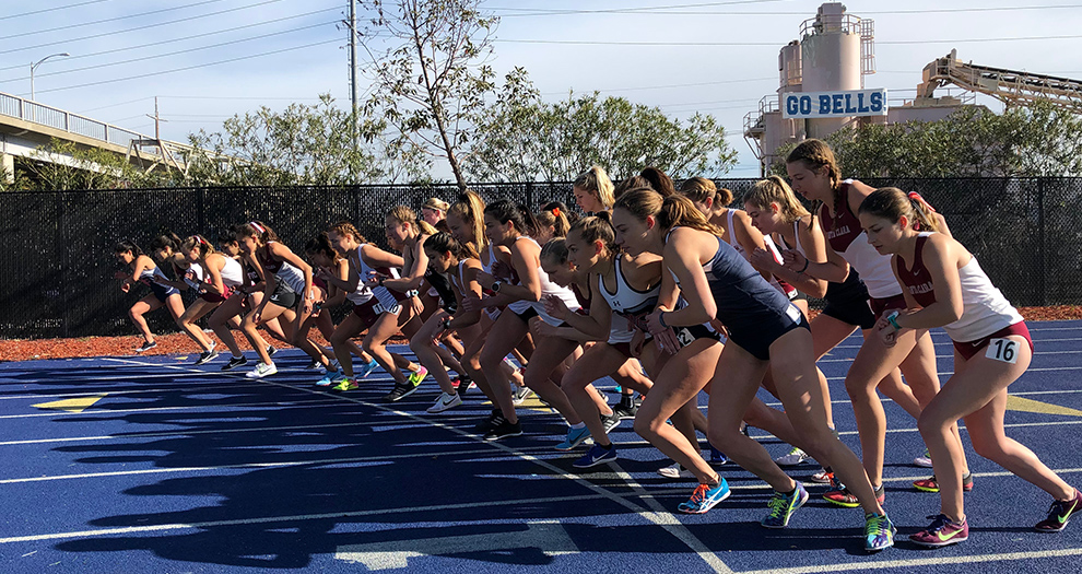 Santa Clara's women are slated to race at 800, 1,500 and 5,000 meters on Saturday.