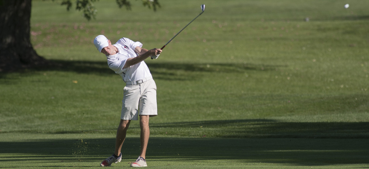 Golf Ties For Sixth at Elms Blazer Invitational