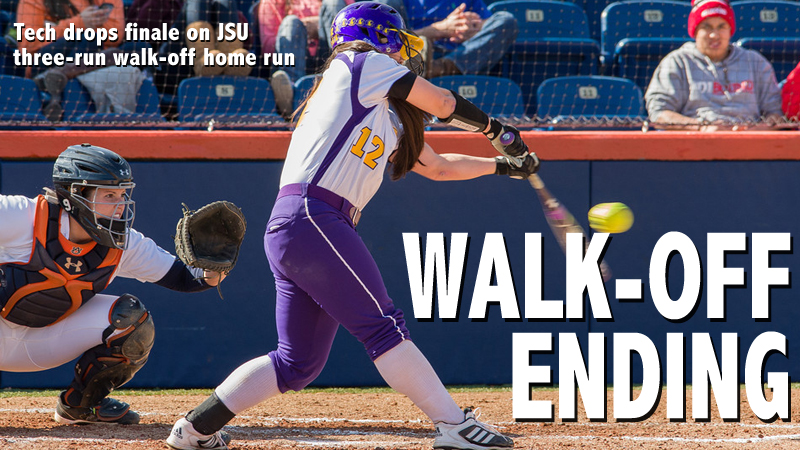 Golden Eagles edged on walk-off three-run home run in series finale with JSU